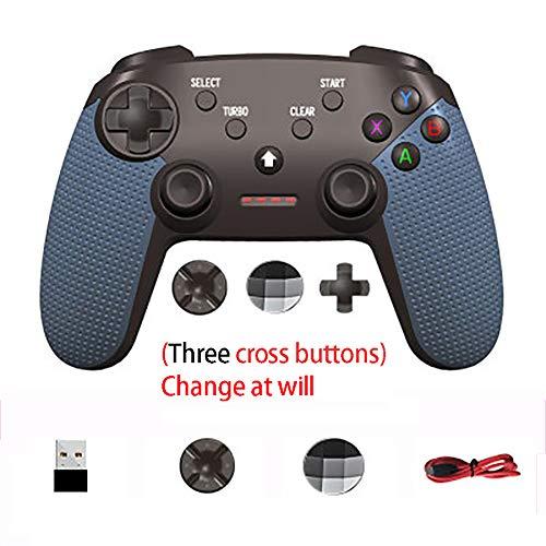 Gamecontroller für PC/TV, Gamepad für Android, Double Vibration Gamecontroller, kompatibel: TV-Box-EnhancedEdition