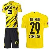 PUMA Borussia Dortmund BVB Heimset 2020 2021 Home Kit Sponsor BL Logo Herren Marcel Schmelzer 29 Gr M
