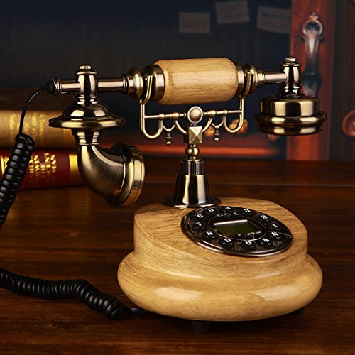 HAMIMI Retro Telephone Home Living Room Retro Resin Landline Decorative Telephone Telephone