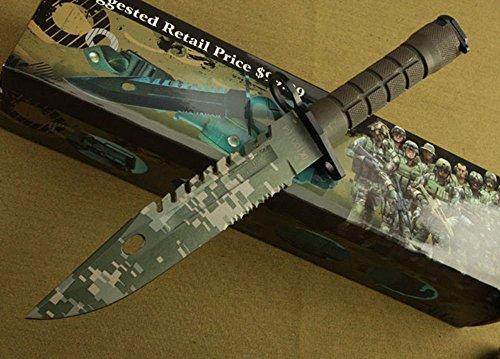 REGULUS KNIFE US-Militärregierung eingerichtete Art der Tarnung M9 Bajonett Kampfmesser Armee Ausrüstung