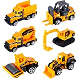 Dreamon Camiones de Construcción Mini Coches Escala 1:72 Juguetes de...