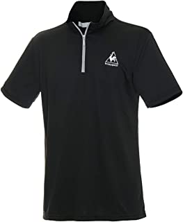 [ルコックスポルティフ] ハーフジップ半袖シャツ QMMLJA70ZZ メンズ