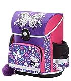 Baagl Schulranzen Mädchen 1. Klasse - Ergonomische Schultasche für Kinder