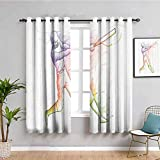 Decoración deportiva sombreado cortina aislada jugador de béisbol de pie en casa placa y golpear fuerte colorido efectos de movimiento Ilustración cortina de baño multi W52 x L63 pulgadas