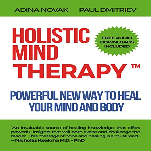 Holistic Mind Therapy audiobook cover art