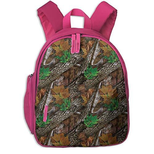 XCNGG Mochila para niños Mochila para niños Bolsos para niños Kids Backpack 3D Forest Camo Preschool Kindergarten Bags Rucksack Casual Daypack For Children Toddler Girls Boys Navy