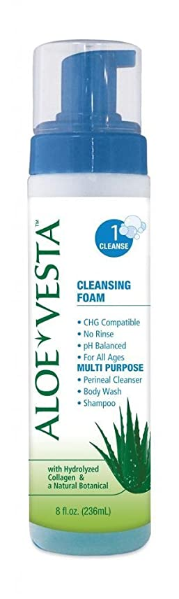 椅子カストディアン失うConvaTec Aloe Vesta Cleansing Foam (8 oz.) (Case of 12) by ConvaTec