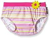 eleMar Baby Windelbadehose,,Pink-Gelb-Bunt/Pink,74
