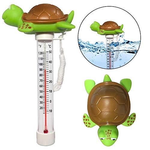 Schwimmende Pool Thermometer Tierförmige Wasser Temperatur Mit String & Bruchfest Baby-Pool-Wasser-Thermometer Für Alle Outdoor & Indoor Pools