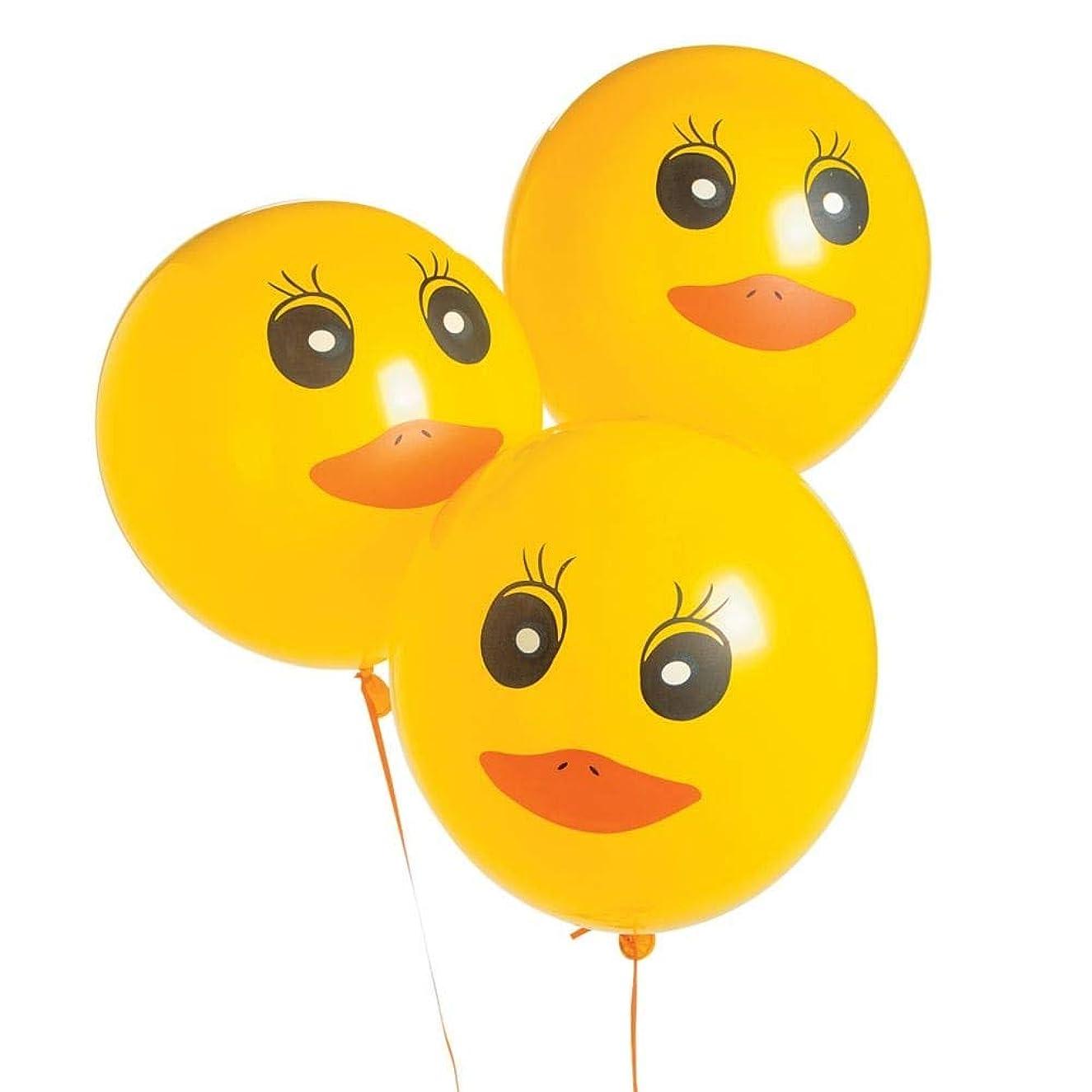 Duck Printed Latex Balloons - 48 ct