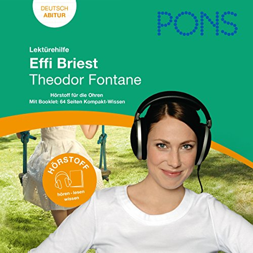Effi Briest - Fontane Lektürehilfe. PONS Lektürehilfe - Effi Briest - Theodor Fontane Titelbild