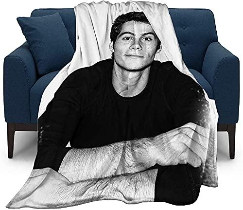 KINGAM Dylan Obrien Ultraweiche Micro-Fleece-Überwurf-Decken für Zuhause, Couch, Bett, Sofa, gemütlich, warm, 3D-gedruckte Decke für Kinder und Erwachsene, gut abgestimmtes Schlafzimmer-Zubehör