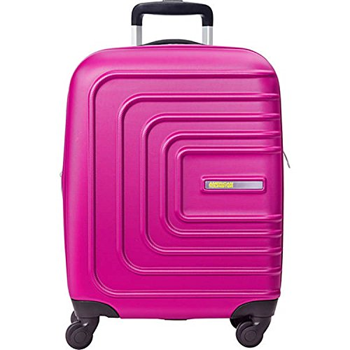 American Tourister Sunset Cruise Hardside Luggage with Spinner Wheels, Pink Berry, Carry-On 20-Inch