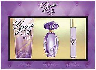 GUESS Girl Belle Eau de Toilette 100 ml + Body Lotion 200 ml+ Mini 15 ml, Gift Set for Women