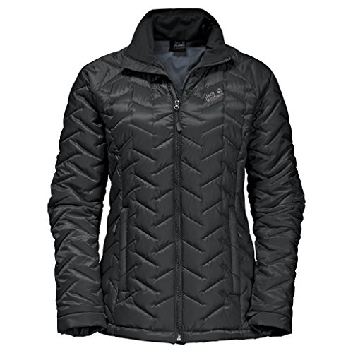 Jack Wolfskin Women's ICY Creek Jacket, Black, XX-Large