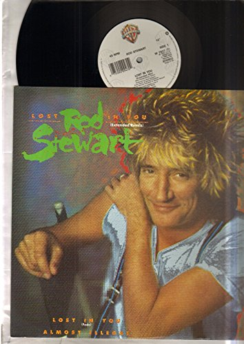 ROD STEWART - LOST IN YOU - 12 inch vinyl record