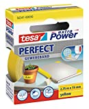 tesa extra Power Perfect Gewebeband gelb