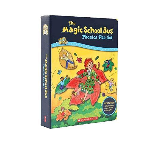 Los Libros para niños Bus Inglés Libro Magic School Puente de la...