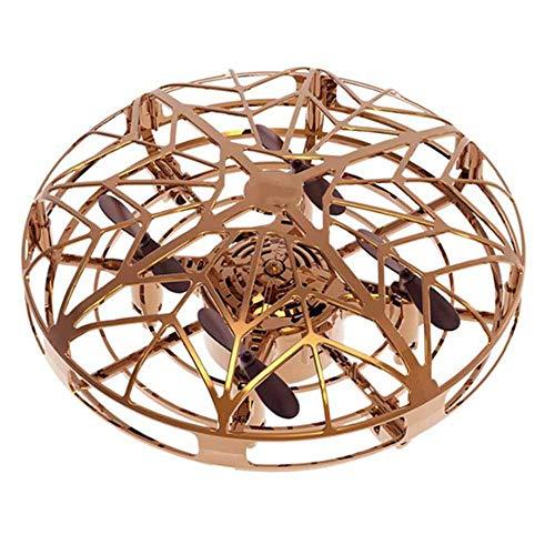 Anti-collision vliegende helikopter, inductie mini inductie drone vliegende schotel elektrisch speelgoed-gebaar sensing + wegvliegen + USB-oplaadkabel + afstandsbediening,1