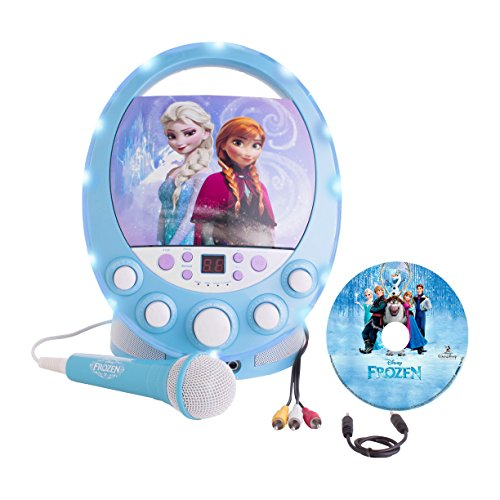 Disney's Frozen Karaoke Machine with Bonus FREE CD-G...