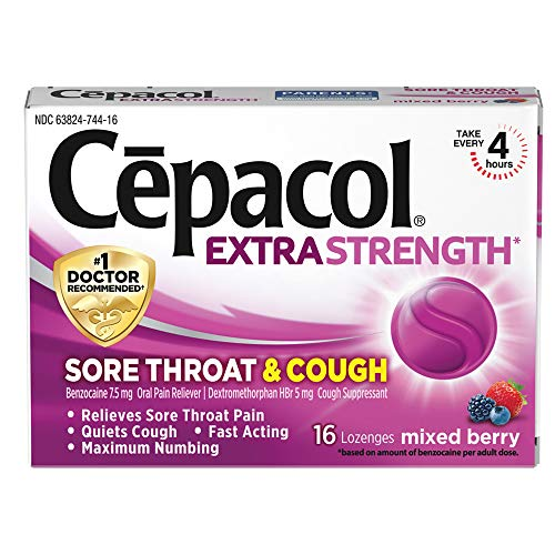 10 best cepacol lozenges cough for 2021