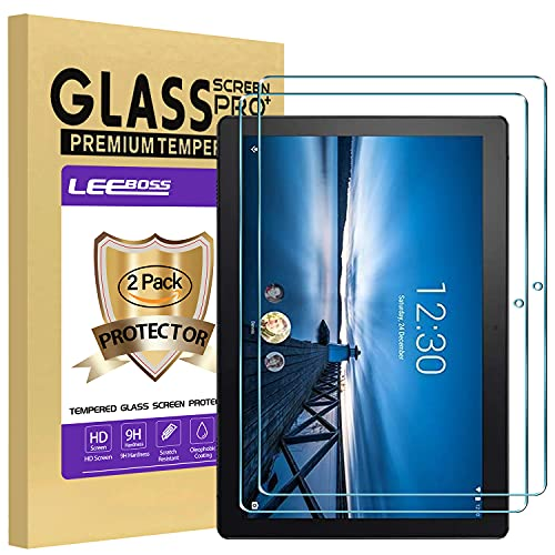 [2 Stück] LEEBOSS Schutzfolie für Lenovo Tab M10 (TB-X505F/TB-X605F) 10.1 Zoll, Panzerglas kompatibel mit Lenovo Tab M10 Anti Kratzen Bildschirmschutzfolie