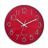 HZDHCLH Horloge Murale silencieuse sans...