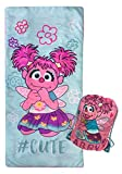 Sesame Street #Cutie Slumber Sack - Cozy & Warm Kids Lightweight Slumber Bag/Sleeping Bag - Featuring Abby Cadabby (Official Sesame Street Product)