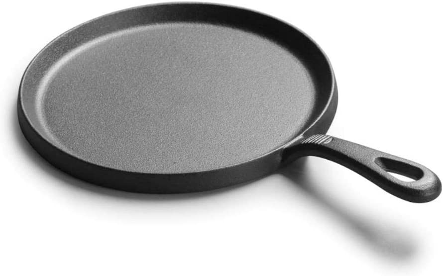 PKJPGrils ࠠcrêpes avec Omelette,25 cm, Noir, 25 cm Black