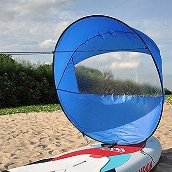 Foldable Kayak Boat Wind Sail Paddle Board Sailing Windpaddle Sailboat 42 Wvt