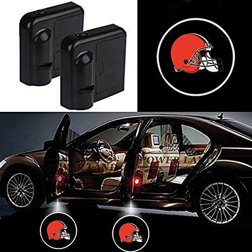 Cleveland Browns Black Universal 15 Diameter Embroidered Steering Wheel Cover FANMATS 18567 NFL