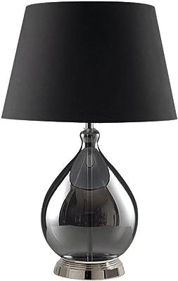 Lámparas de Escritorio Lámparas de Mesa Lámpara de Mesa de Cristal ...