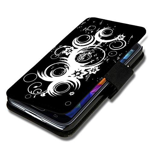 wicostar Book Style Flip Handy Tasche Hülle Schutz Hülle Schale Motiv Foto Etui für Huawei Y635 - Flip A51 Design12