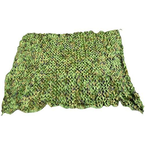 Camuflaje Neto Caza Neta Oxford Paño Disparando Escondite Militar Camuflaje Neto Cubierta Decorativa Cubierta De Coches Neta, 4 * 6m 4 * 8m 4 * 1(Size:13.12x19.68ft/4x6m,Color:Camuflaje verde militar)