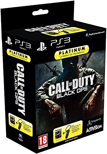 Oreillette sans fil pour PS3 + Call of Duty : Black Ops - platinum [Importación francesa]