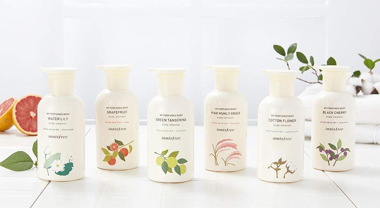 賢いまあゼリー[イニスフリー.innisfree]マイパフュームドボディクレンザー330mL/ My Perfumed Body Body Cleanser (#2 green tangerine)