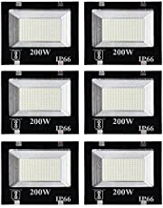ESS EMM® Watt Ultra Thin Slim Ip66 LED Flood Outdoor Light Cool White Waterproof