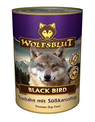 Warnicks Tierfutterservice WOLFSBLUT Black Bird mit 65% Truthahnfleisch 6 x 395g