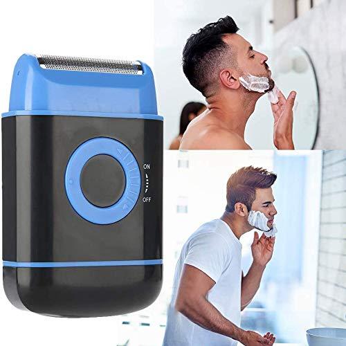 Shaver Rasoir pour Homme, Batterie sèche Rasoir électrique, Barbe électrique à Mouvement Alternatif, pour Les Hommes