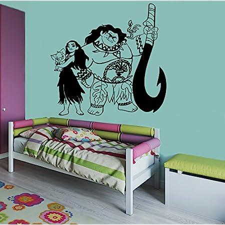 Moana,Kids,Sticker,Decal,Bedroom,Children/'s,3d,Wall Art,Mural