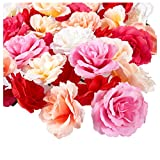 Juvale Artificial Flower Heads -...