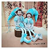 Christmas Doll Christmas Elves Plush Elf Doll Xmas Decoration Christmas Children Toys Navidad New Year Gifts Kids Tree Hanging Ornaments (Color : Elf Doll Set FR77 2)