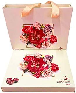 Brown Sugar Ginger Tea Gift Box, Ancient Handmade Ginger Tea, Brown Sugar Block Qi And Blood Ginger Soup Tea   20 Pcs   Tr...