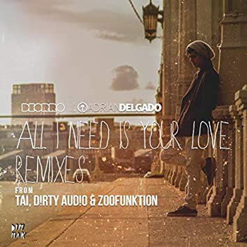 All I Need Is Your Love (Remixes)