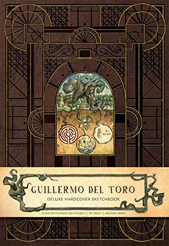 Guillermo del Toro Hardcover Blank Sketchbook (Insights Deluxe Sketchbooks)