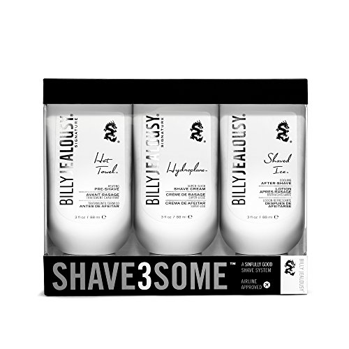Billy Jealous Shave3some Travel-Size Shave Trio Kit