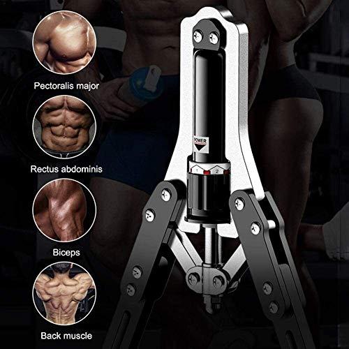Équipement d'exercice du bras Puissance Twister, Bras exerciseur Avant-bras extenseur Muscle r avec résistance ajustable for bras, Biceps, Domen, les épaules et la poitrine Muscle Musculation 10-150 K