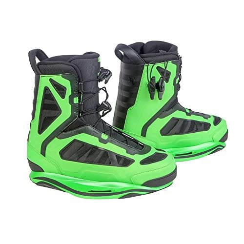 Yellow Wakeboard Binding Boot Laces and lace locks fits most bindings Ronix