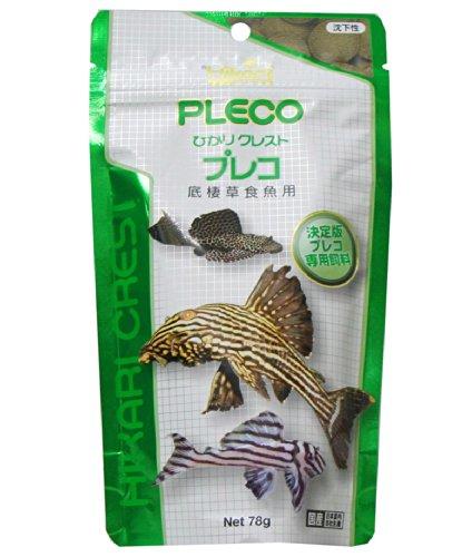 ヒカリ (Hikari) ひかりクレスト プレコ 底棲草食魚用 78g