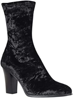 Impo Womens Truely Velvet Almond Toe Ankle Fashion Boots US